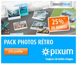 25% de remise sur vos photos façon polaroid !