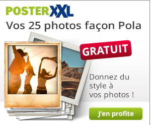 25 photos polaroid gratuites !