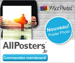 ALLPOSTERS : Remise de 20% sur tout le site + un espace dédié aux posters personnalisés