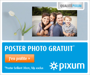 Poster photo papier brillant, 30 cm, gratuit !