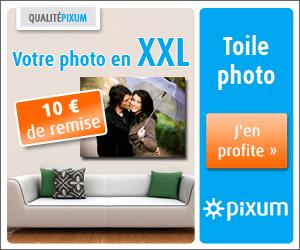 Votre toile photo avec 10 euros de réduction !