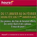 HOURA : Des promotions à l'occasion de son 11ème anniversaire