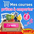 SIMPLY MARKET : Courses prêtes à emporter en magasins gratuitement